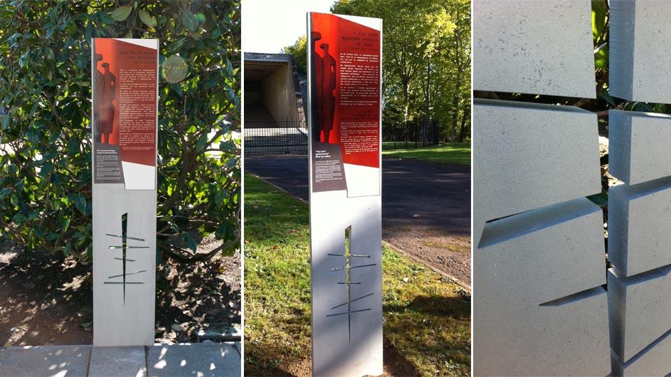 Cinquante otages - Nantes Parcours d'interprétation