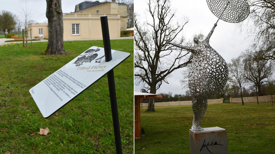 Parcours d'interprétation- Château Dauzac