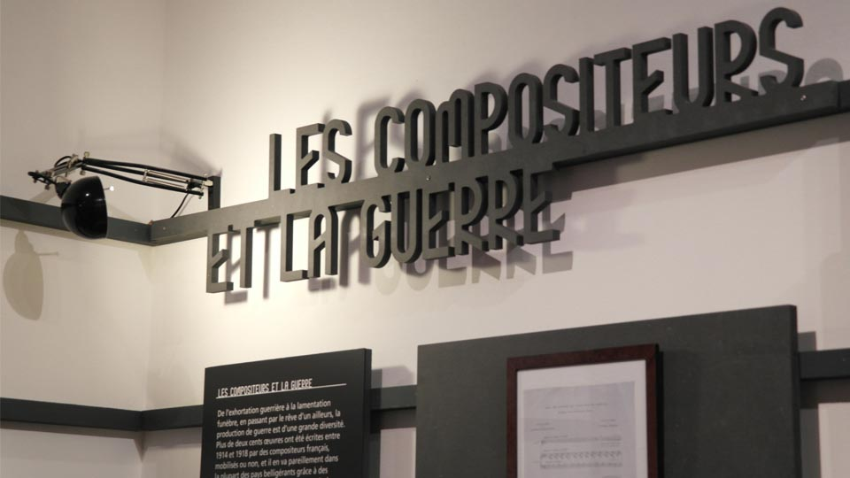 Scénographie - Historial de la Grande Guerre