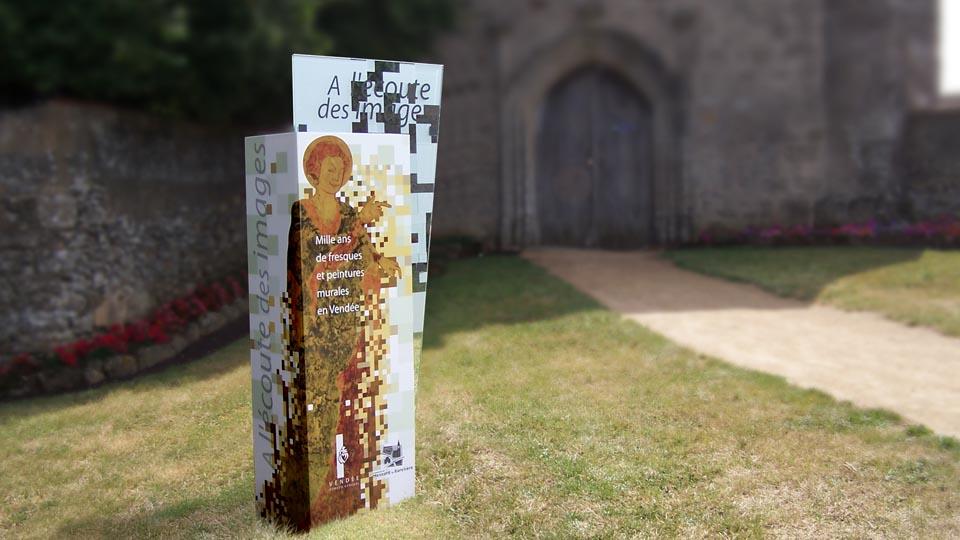 Église St Christophe-Mesnard-Vendée Scénographie