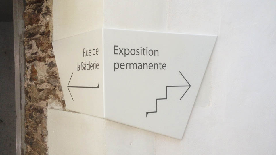 Passage Sainte-Croix Nantes Signalétique