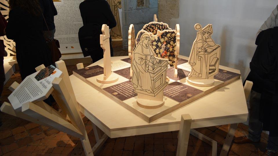 Scénographie - exposition des hommes et des plantes qui soignent - Château de la Roche Jagu