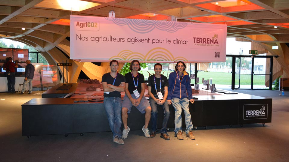 Scénographie - Terrena - Exposition Universelle de Milan